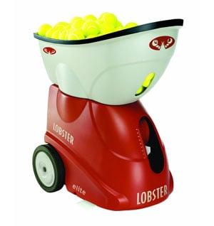 lobster sports elite 2 portable tennis machine