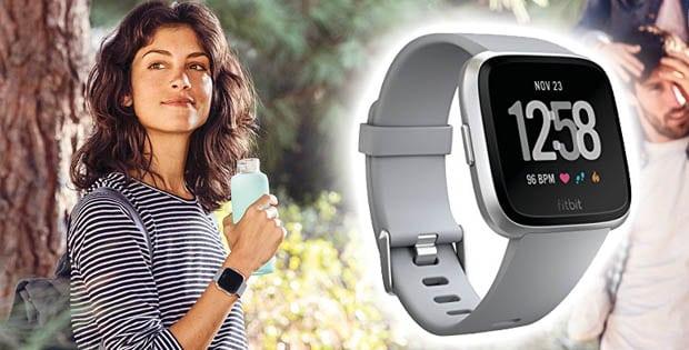 Fitbit Versa keep tracks of your activities!